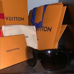 Men's oversized Prada Sunglasses